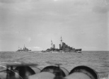 HMS Naiad on Mediterranean Patrol, 14-Dec-1941  © IWM (A 7593)